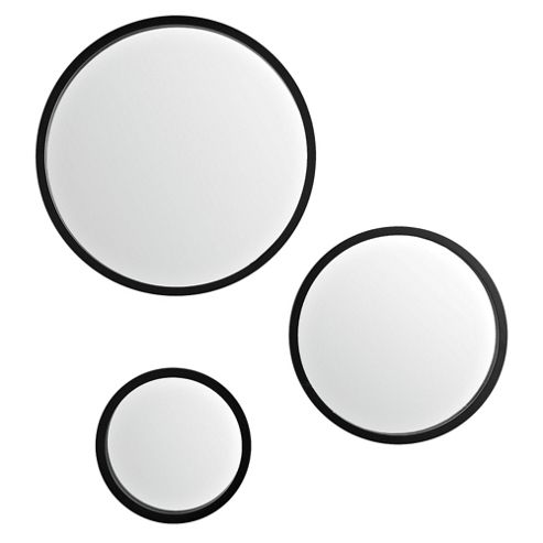 Set Of 3 Circle Mirrors