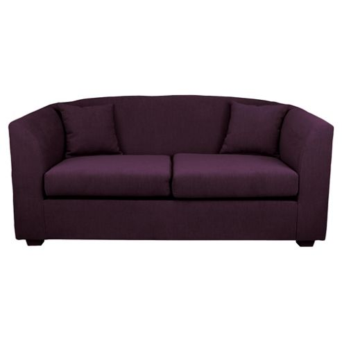 Stonebridge Fabric Sofa Bed, Aubergine