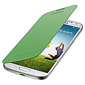 Samsung Original Flip Case for Samsung Galaxy S4 - Lime Green