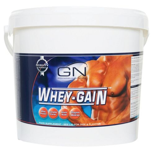 Garnell Nutrition Whey Gain 4.55kg Strawberry