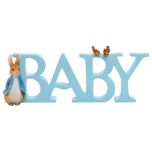 Peter Rabbit Baby Letters
