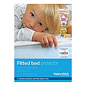 Hippychick Fitted bed protector cot bed