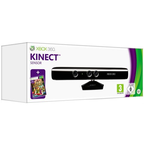 Microsoft Xbox 360 Kinect Sensor and Kinect Adventures