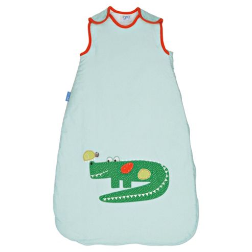Grobag Baby Sleeping Bag, Crocodile Rock 1 Tog 0-6 Months