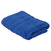 Tesco Bath Sheet Twin Pack Electric Blue