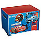 Cars 2 Toy Box, Red & Blue