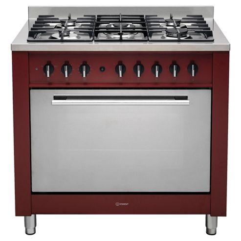 Indesit KP9F11S(R)/G Dual Fuel Range Cooker