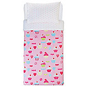 Tesco Kids Cupcake & Sweets Duvet
