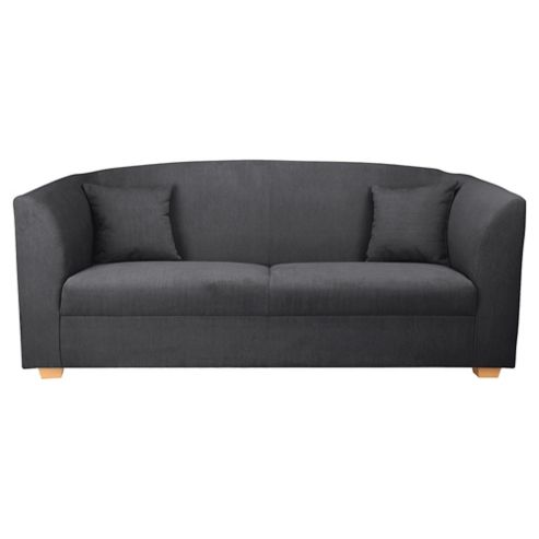 Stonebridge Large Fabric Sofa, Graphite