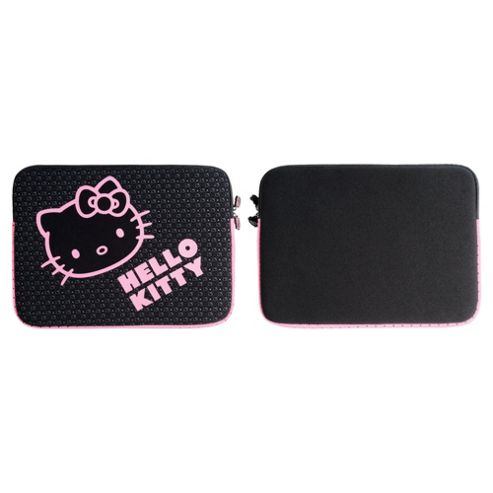 Hello Kitty Black & Pink Neoprene Laptop Sleeves - For up to 15.4