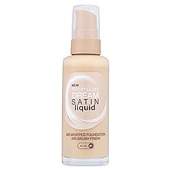 Maybelline Dream Satin Liquid Foundation 021 Nude