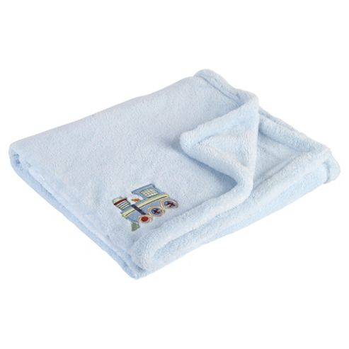 Kids Line Supersoft Design Blanket, Train