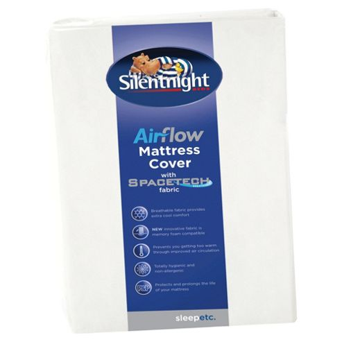 Silentnight Breatheasy Airflow Double Mattress Cover