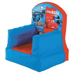 Cars 2 inflatable Cosy Chair
