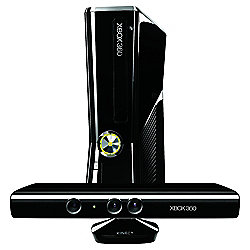 Xbox 360 250GB Console with Kinect Sensor and Kinect Adventures