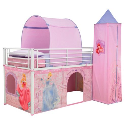Disney Princess Mid Sleeper Bed Tent Pack
