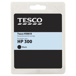 Tesco H280 Black Printer Ink Cartridge (Compatible with printers using HP 300 Black Cartridge)