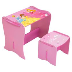 Disney Princess My First Desk And Stool