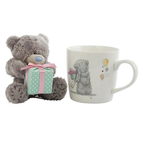 Me To You Tatty Teddy - Mug & Soft Toy Happy Birthday