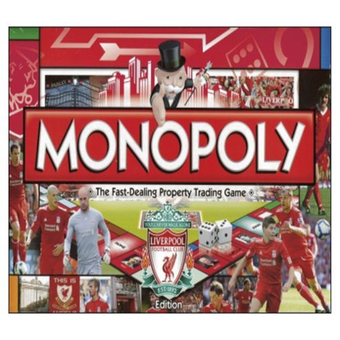Liverpool Fc Monopoly