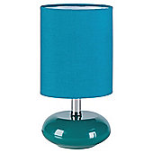 Tesco Lighting Ceramic Table Lamp Teal, Set Of 2
