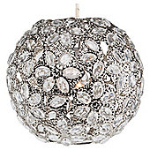 Tesco Lighting Moroccan Metal Sphere Pendant