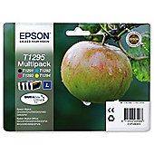 Epson T129.4 Colour: Multipack Ink Cartridges - Black/Cyan/Magenta/Yellow.
