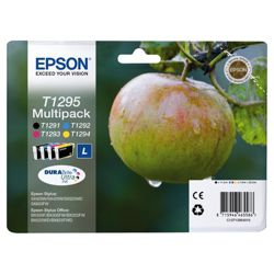 Epson T1295 Multi Colour Printer Ink Cartridge Multipack (Contains T1291, T1292, T1293, T1294 cartridges)