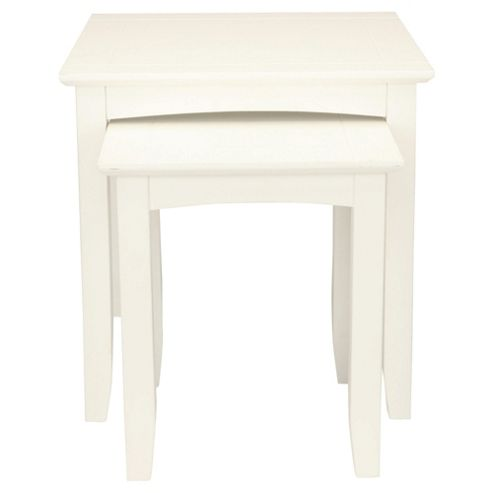 Stockholm Nest Of 2 Tables, White