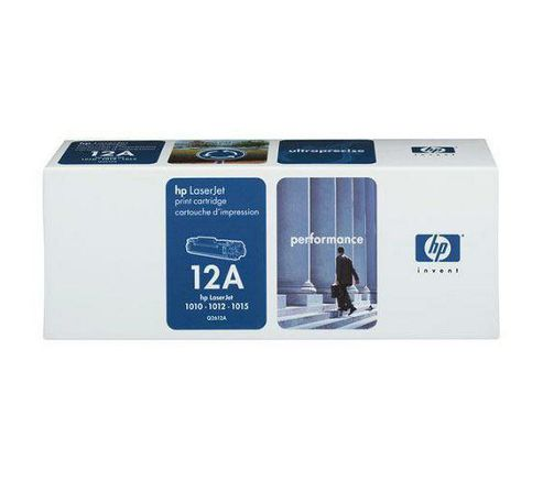 HP 12A Black LaserJet Toner Cartridge