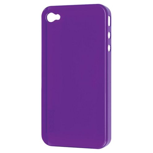 Gear 4 Thin Ice Tint Purple - Transparent back and sides - iPhone 4 & iPhone 4S