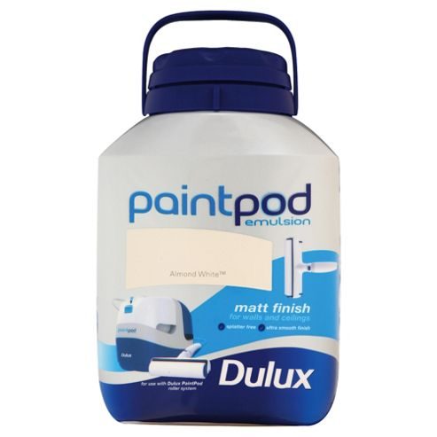Dulux Paint Pod Matt Almond/Wht 5L