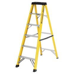 Abru 6 Tread fibreglass builders stepladder