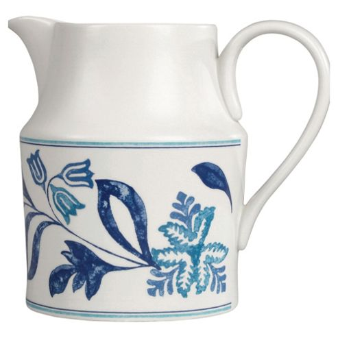 Johnson Bros Blue Fern Jug