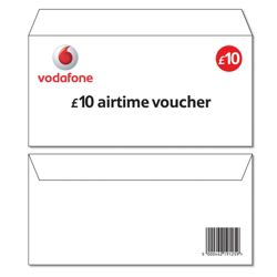 Vodafone £10 Top-up voucher