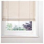 Wood Venetian Blind 120Cm 35Mm Slats 210Cm Drop, Cream