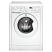 Indesit IWDD 7123 Washer Dryer, 7kg Wash Load, 1200 RPM Spin, B Energy Rating. White