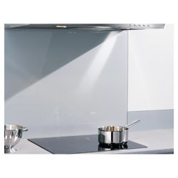 Caple CSBG1000/140/BD 1000 x 140 glass upstand (2 Pack)