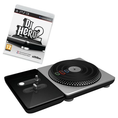 Dj Hero 2 - Bundle With Turntable Controller