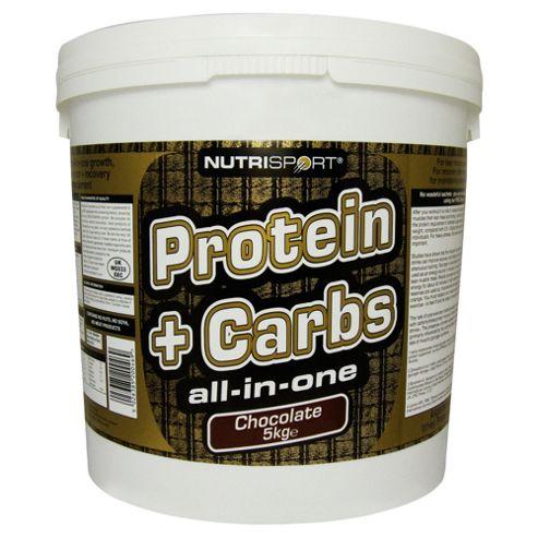 Nutrisport Protein + Complex Carbs 5kg Chocolate