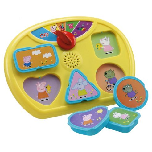 Inspiration Works Peppa Pig Shape Sorter Puzzle
