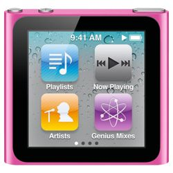 Apple MC526QB/A iPod Nano 16GB 6th Generation - Pink