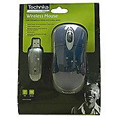 Technika WM110BL 2.7 GHz Wireless Optical Mouse Blue