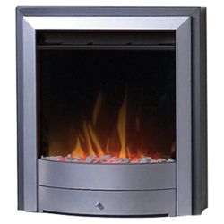 Dimplex X1 Silver Electric Fire