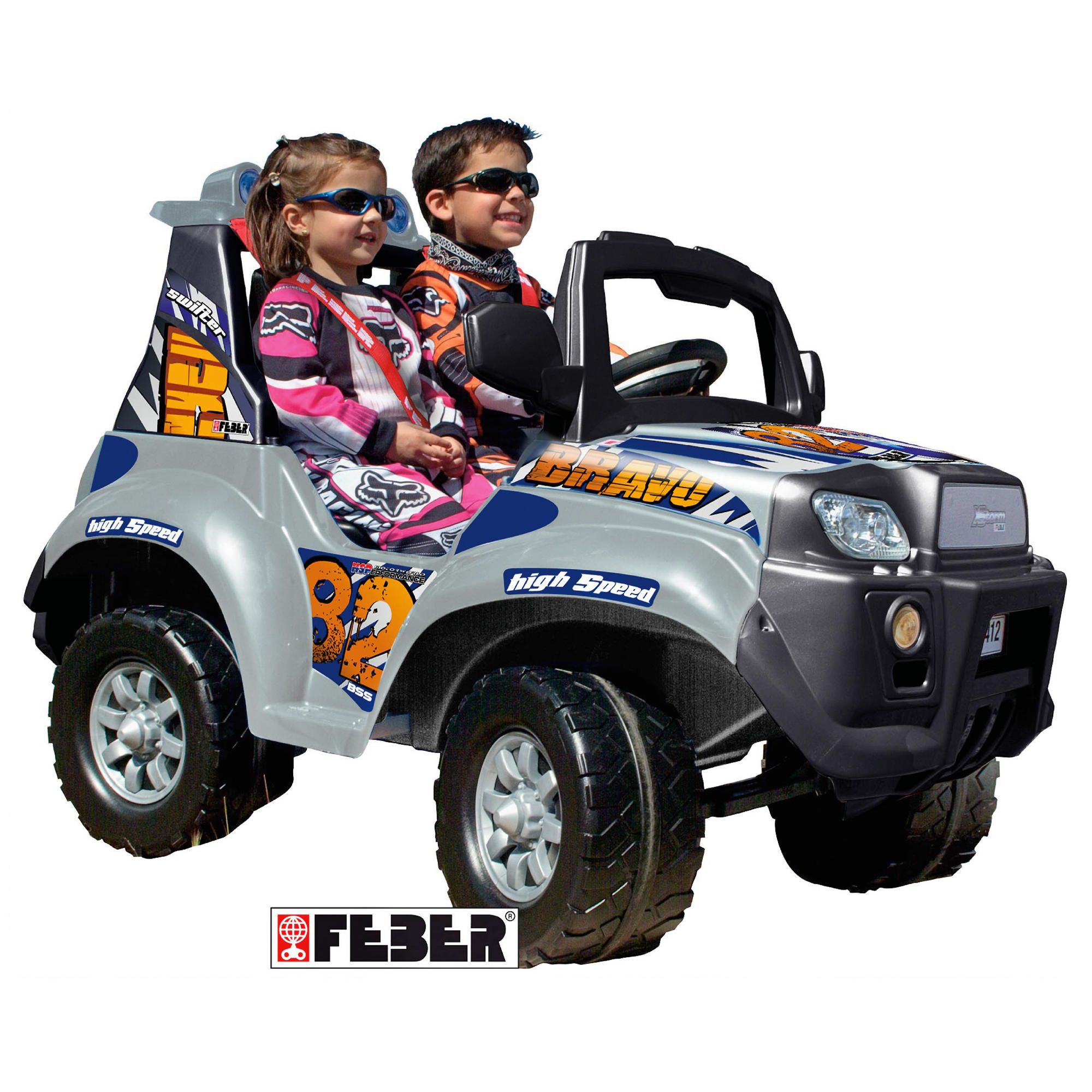 Feber Famosa 2-Seater Ride-On Jeep at Tesco Direct