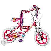 "Barbie 12"" Wheel Kids' Bike - Girls with stabilisers"