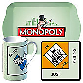 Monopoly Jail Mug Gift Set
