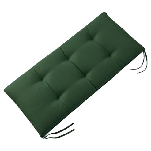 buy bench cushion green from our cushions range tesco. Black Bedroom Furniture Sets. Home Design Ideas