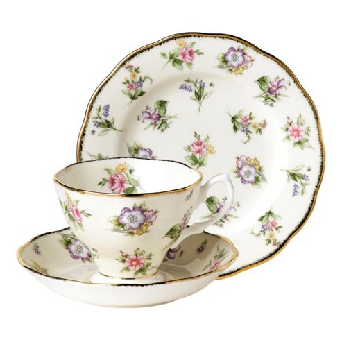 Royal Albert 1920 Spring Meadow Tea Set