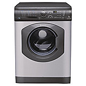 Hotpoint WDF740G Washer Dryer, 7Kg Wash Load, 1400 RPM Spin, B Energy Rating, Graphite